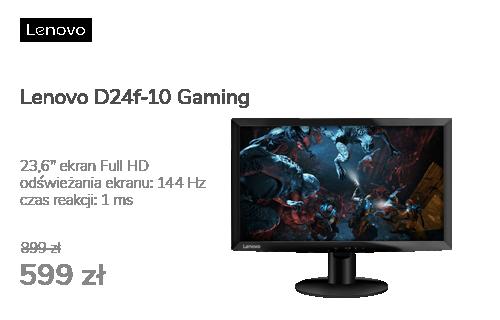Lenovo D24f-10 czarny Gaming