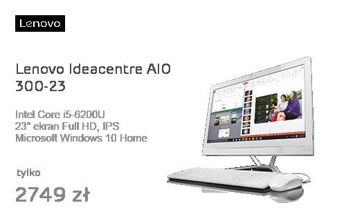 Lenovo Ideacentre AIO 300-23 i5/4GB/1TB/Win10