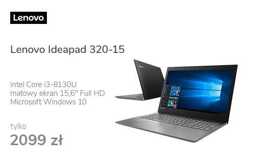 Lenovo Ideapad 320-15 i3-8130U/4GB/1000/Win10