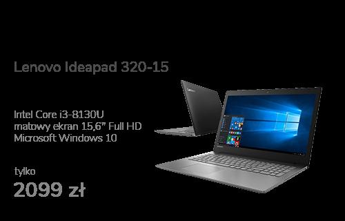 Lenovo Ideapad 320-15 i3-8130U/4GB/1000/Win10