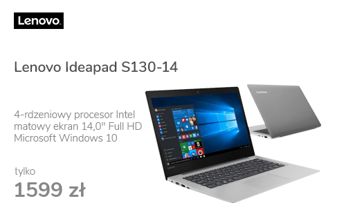 Lenovo Ideapad S130-14 N5000/4GB/128/Win10