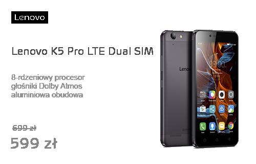 Lenovo K5 Pro LTE Dual SIM szary