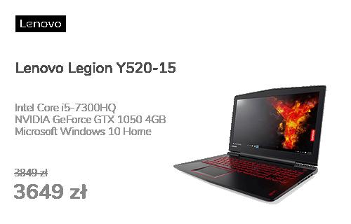 Lenovo Legion Y520-15 i5/8GB/128+1000/Win10X FHD GTX1050
