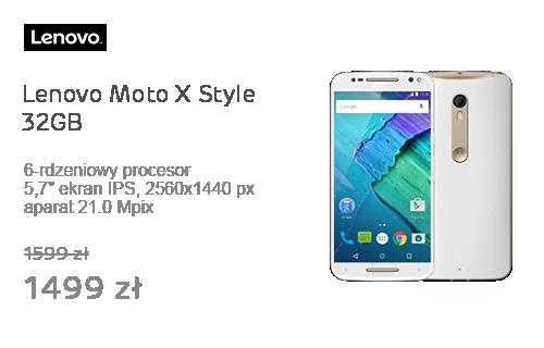 Lenovo Moto X Style 32GB biały