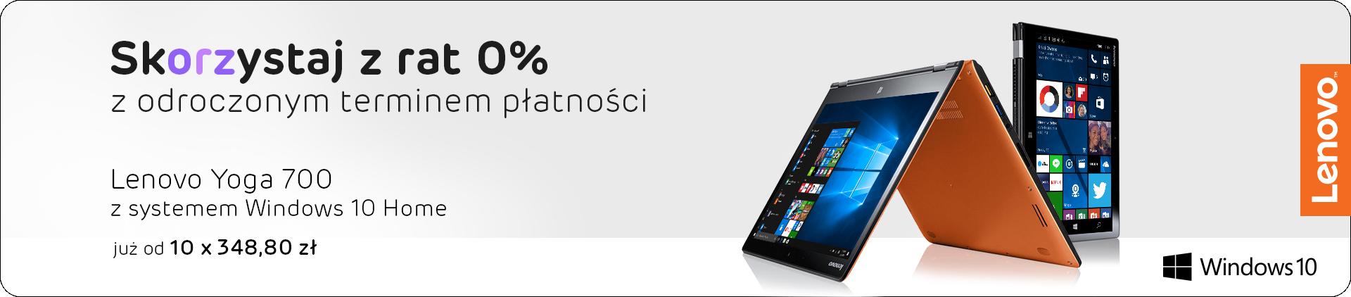 Lenovo w odroczonych ratach 0%