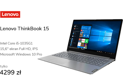 Lenovo ThinkBook 15 i5-1035G1/16GB/512/Win10P