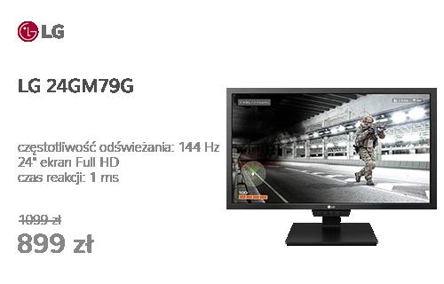 LG 24GM79G czarny