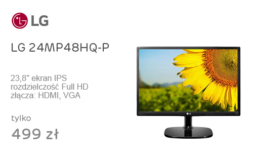 LG 24MP48HQ-P czarny