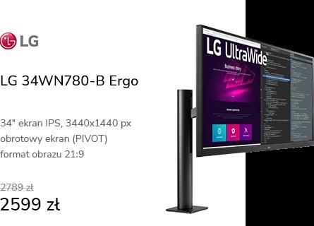 LG 34WN780-B Ergo