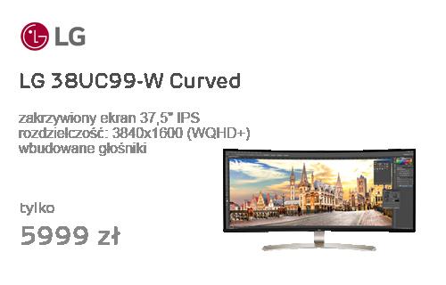 LG 38UC99-W Curved