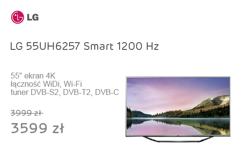 LG 55UH6257 Smart 4K 1200Hz WiFi 3xHDMI USB