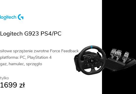 Logitech G923 PS4/PC