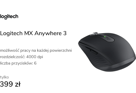Logitech MX Anywhere 3 Grafit