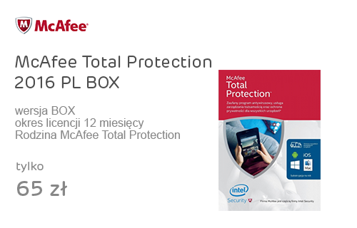 McAfee Total Protection 2016 PL