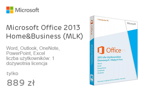 Microsoft Office 2013 Home&Business (MLK)