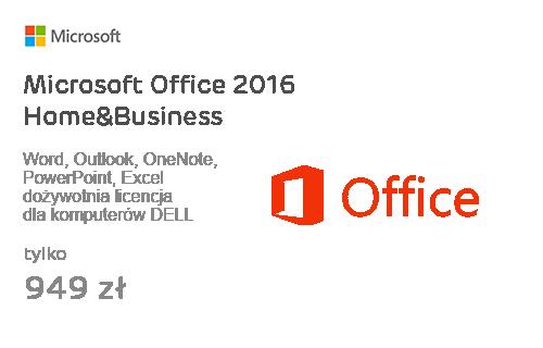 Microsoft Office 2016 Home&Business dla komputerów DELL