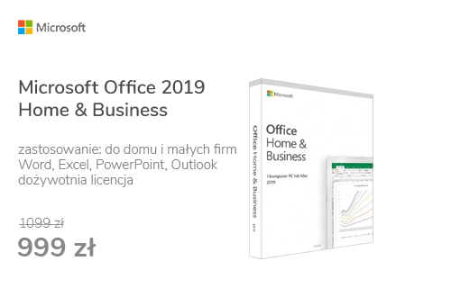 Microsoft Office 2019 Home & Business | zakup z komputerem
