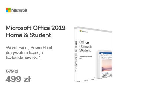 Microsoft Office 2019 Home & Student | zakup z komputerem