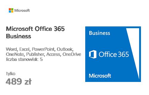 Microsoft Office 365 Business 12m. (kod aktywacyjny)