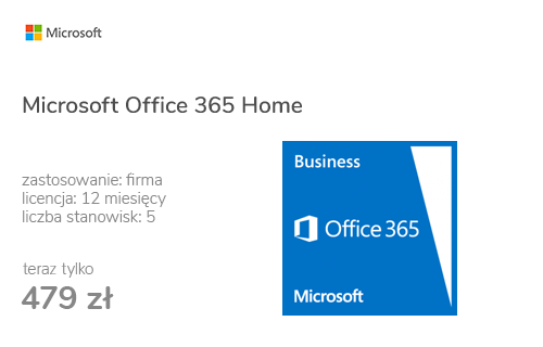 Microsoft Office 365 Business subskrypcja 12m.