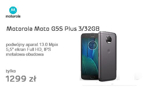 Motorola Moto G5S Plus 3/32GB Dual SIM szary
