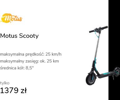 Motus Scooty 8,5 turkusowa (350W)
