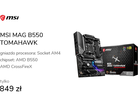 MSI MAG B550 TOMAHAWK