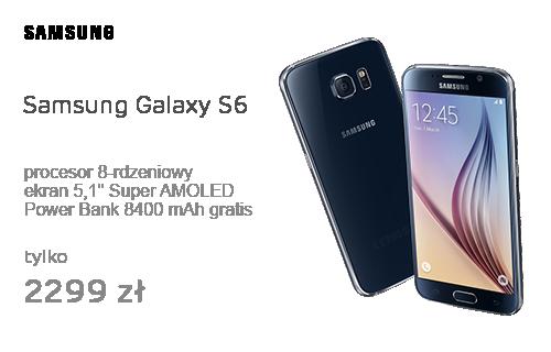 Samsung Galaxy S6 G920F 32GB Czarny szafir