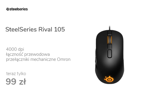 SteelSeries Rival 105