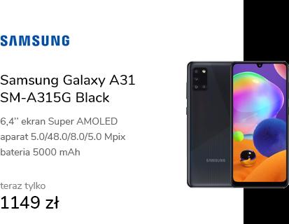 Samsung Galaxy A31 SM-A315G Black