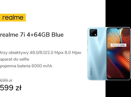 realme 7i 4+64GB Blue