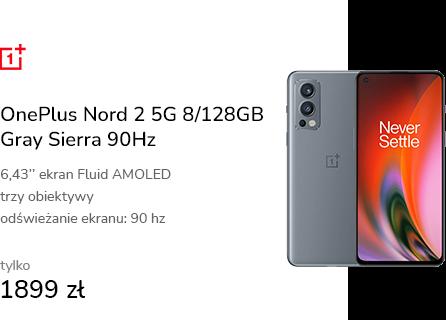 OnePlus Nord 2 5G 8/128GB Gray Sierra 90Hz