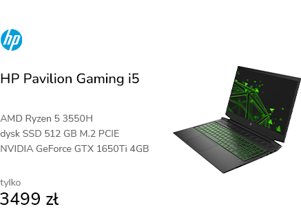 HP Pavilion Gaming i5