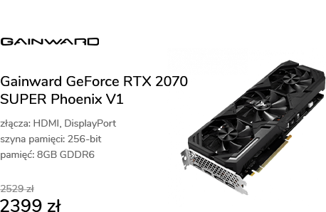 Gainward GeForce RTX 2070 SUPER Phoenix V1 8GB GDD