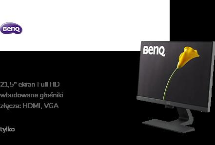 BenQ GW2280 czarny