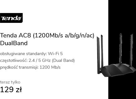 Tenda AC8 (1200Mb/s a/b/g/n/ac) DualBand