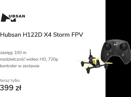 Hubsan H122D X4 Storm FPV