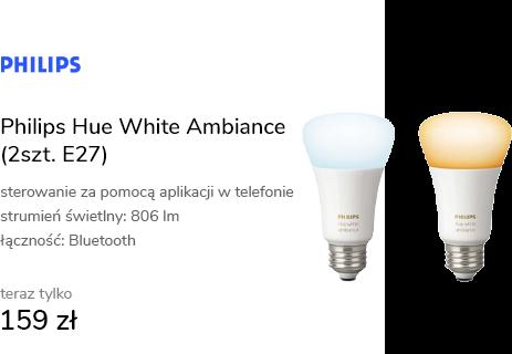 Philips Hue White Ambiance (2szt. E27)