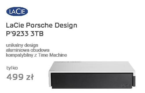 LaCie Porsche Design P'9233 3TB