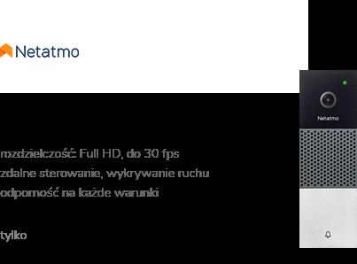 Netatmo DOORBELL Inteligentny wideodomofon FullHD