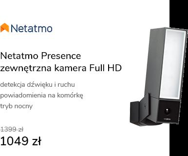 Netatmo Presence (zewnętrzna kamera FullHD z refle