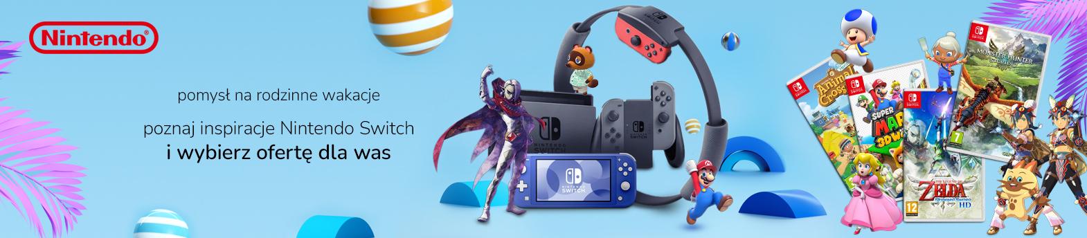 Nintendo na wakacje
