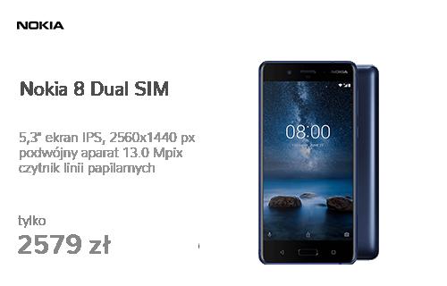 Nokia 8 Dual SIM niebieski