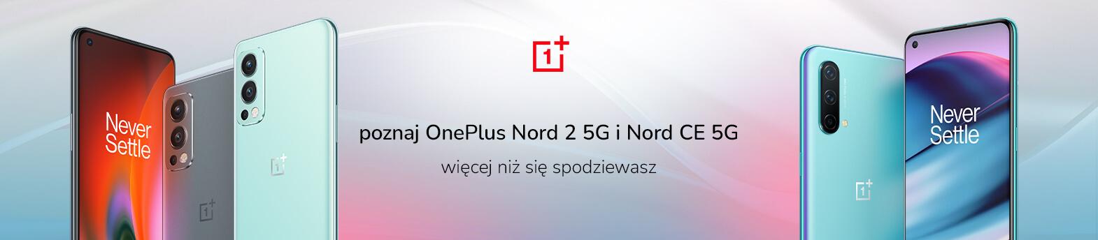poznaj nowe smartfony OnePlus