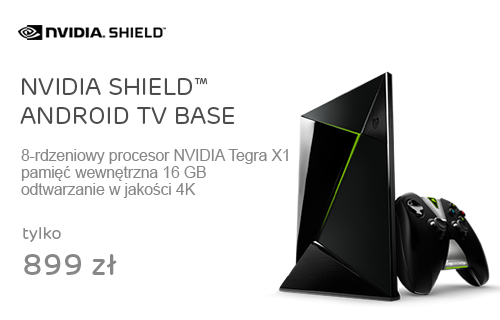 NVIDIA SHIELD™ ANDROID TV BASE (16GB)