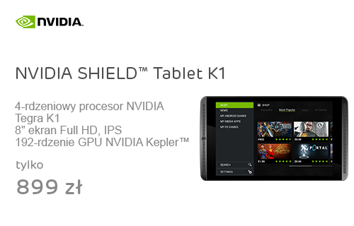 NVIDIA SHIELD™ Tablet K1