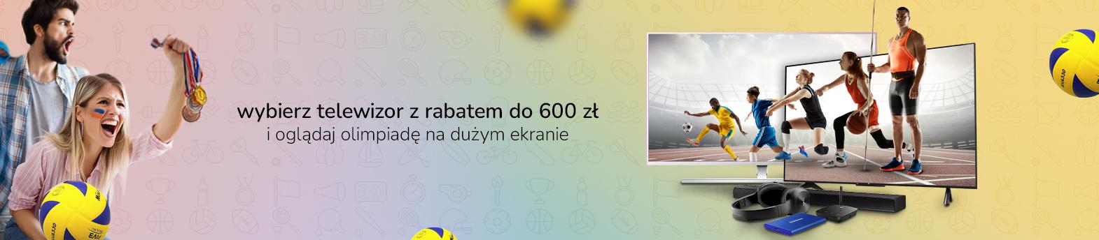 telewizory z rabatem do 600 zł