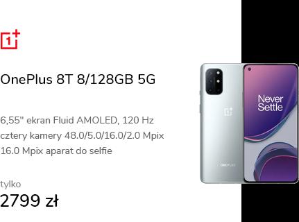 OnePlus 8T 8/128GB 5G Lunar Silver 120Hz