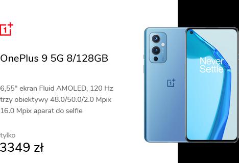 OnePlus 9 5G 8/128GB Arctic Sky 120Hz