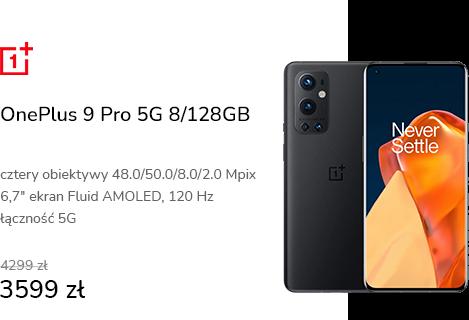 OnePlus 9 Pro 5G 8/128GB Stellar Black 120Hz